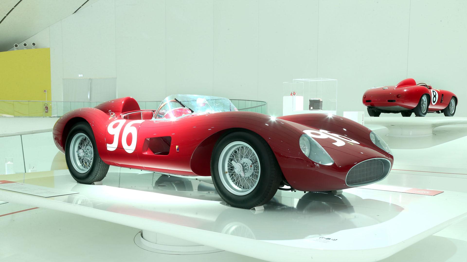 Ferrari 500 TRC at Museo Enzo Ferrari Modena