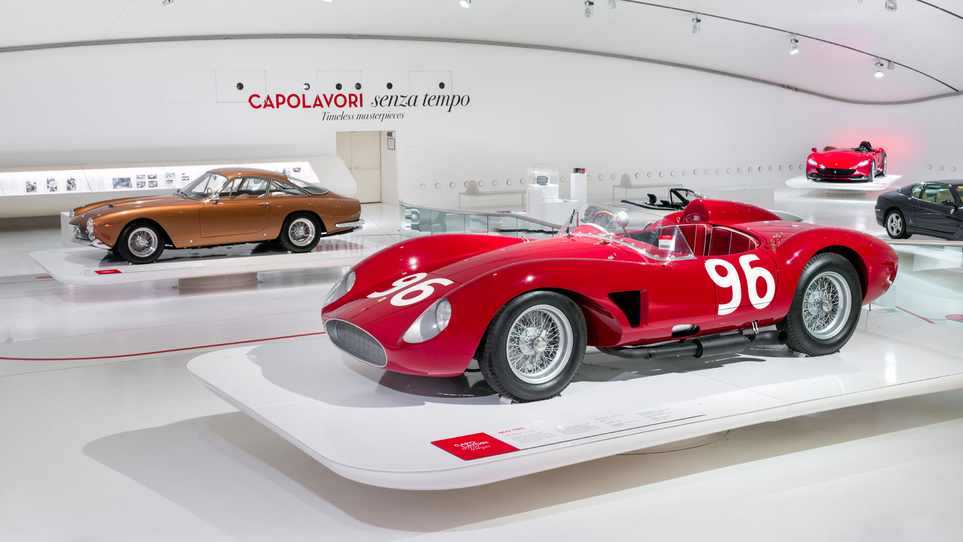 Ferrari 250 GT Berlinetta Lusso at Museo Enzo Ferrari Modena