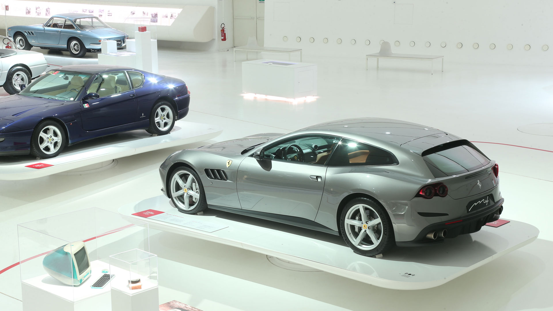 Ferrari GTC4Lusso at Museo Enzo Ferrari Modena