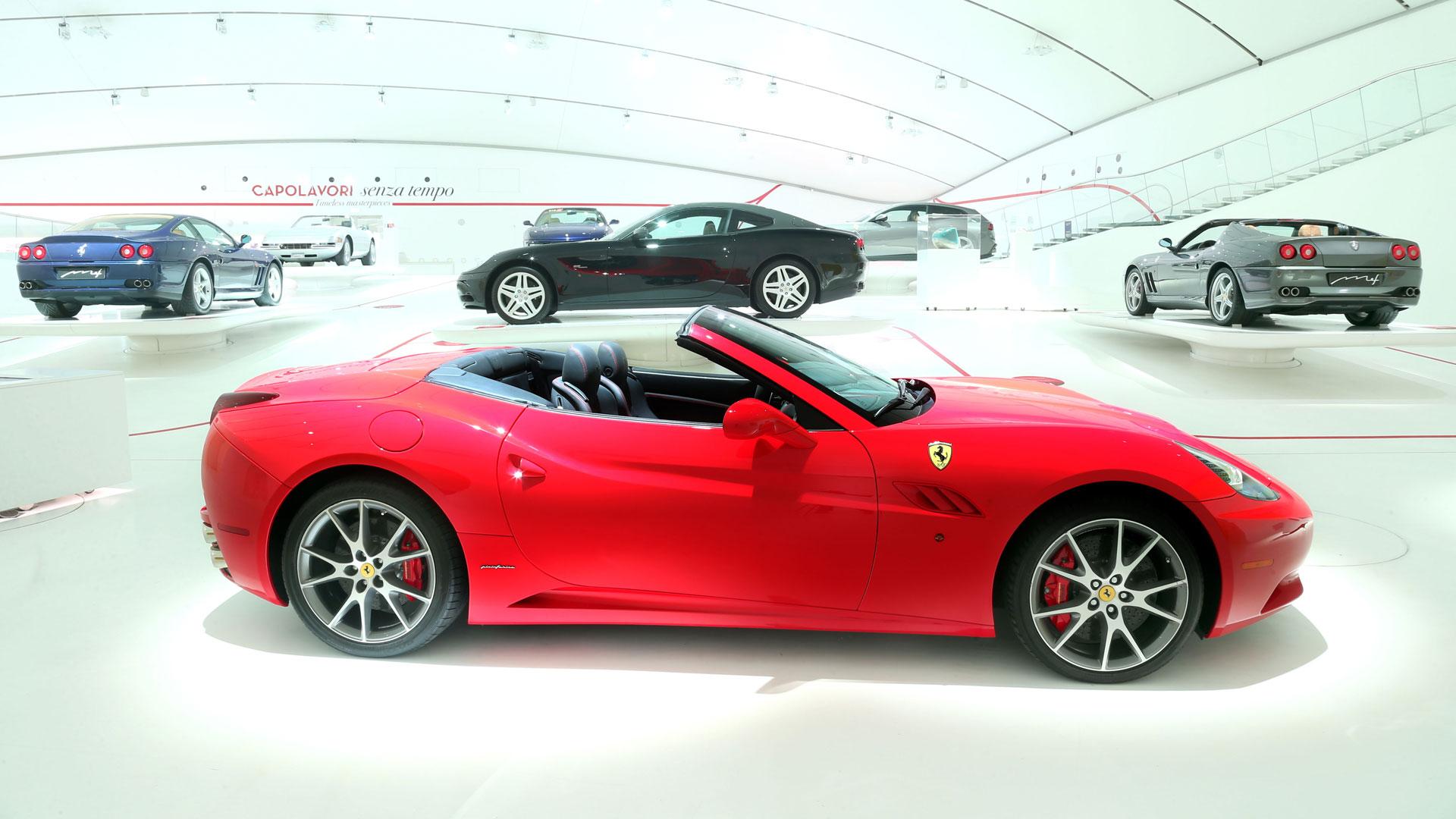 Ferrari California at Museo Enzo Ferrari Modena