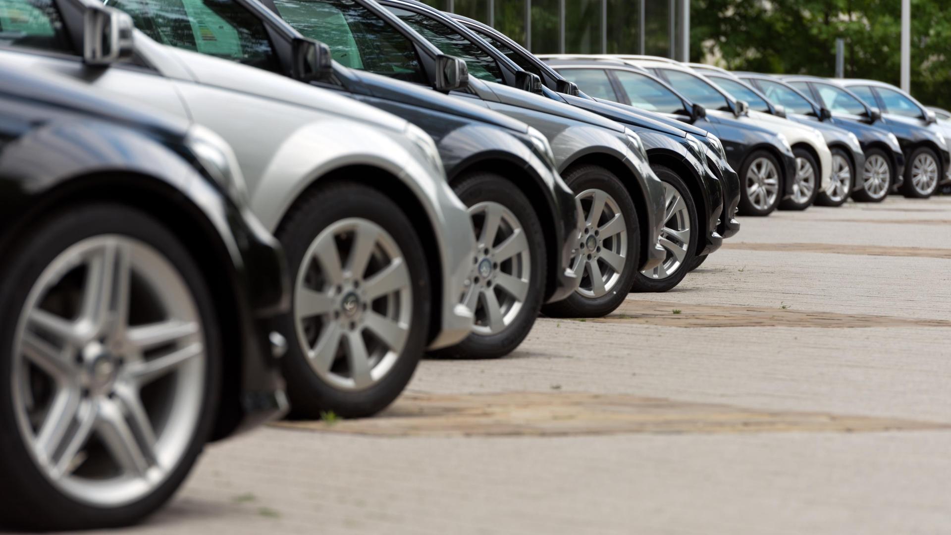 Second-hand car values down after 'market adjustment'.