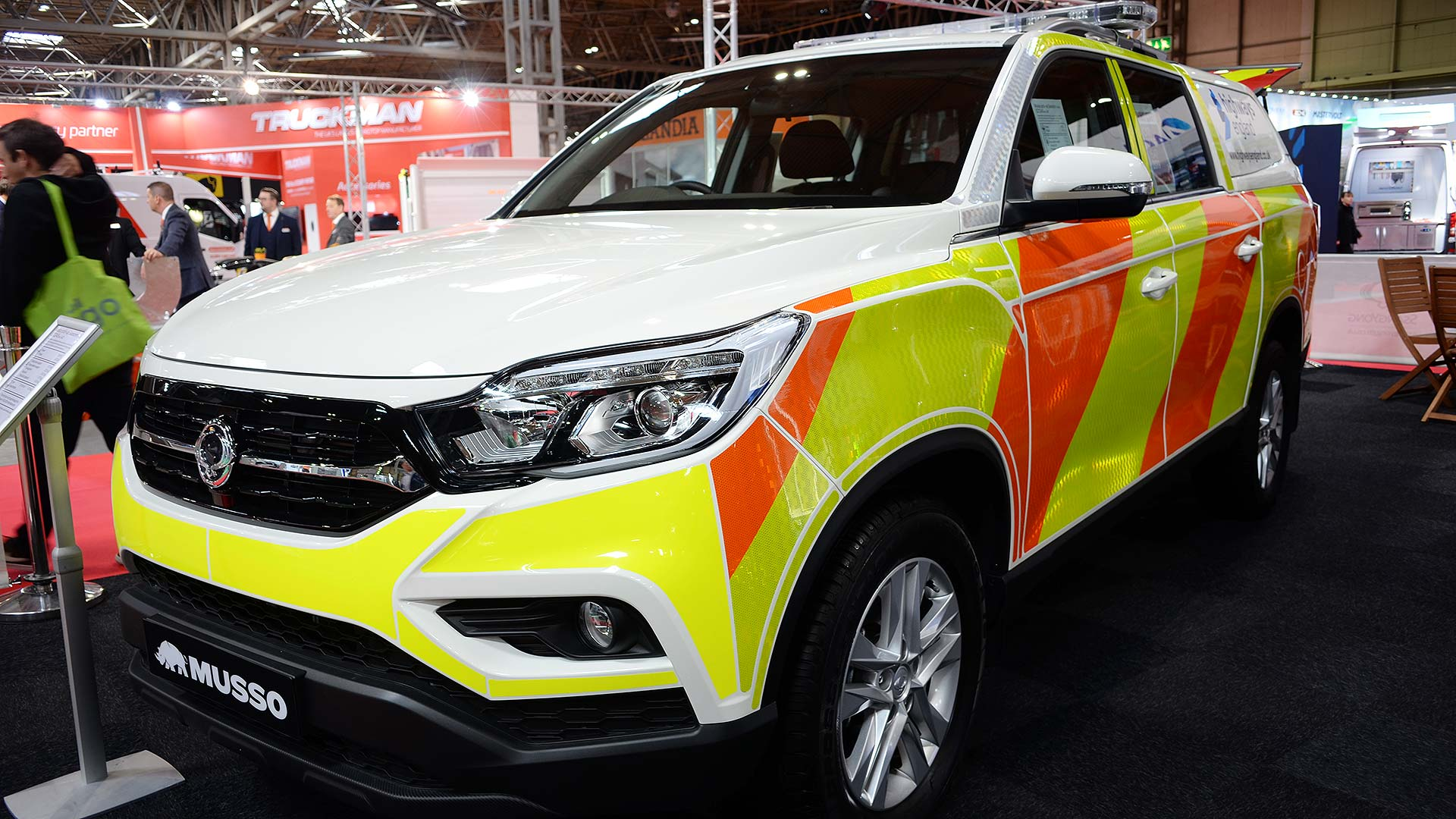 SsangYong Musso Highways England