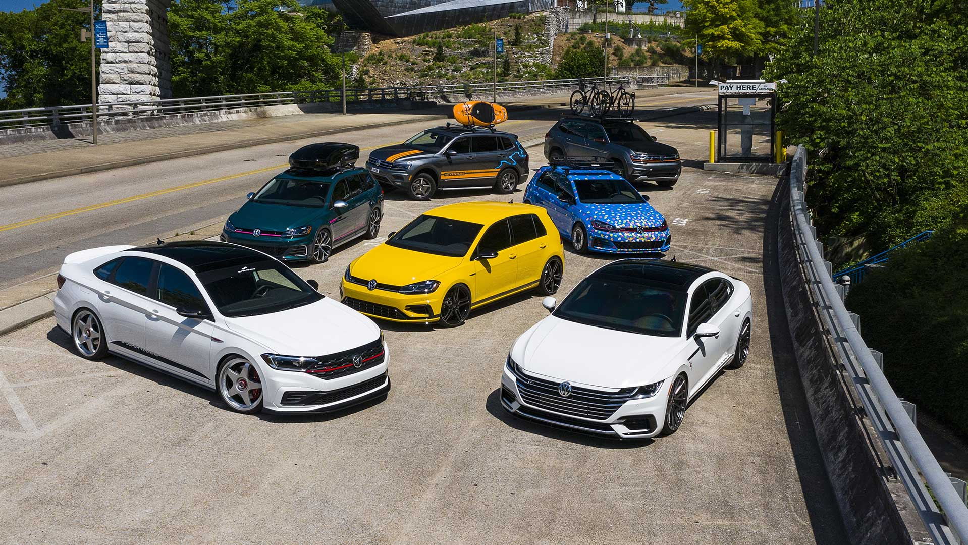 2019 Volkswagen USA Enthusiast Concept Fleet