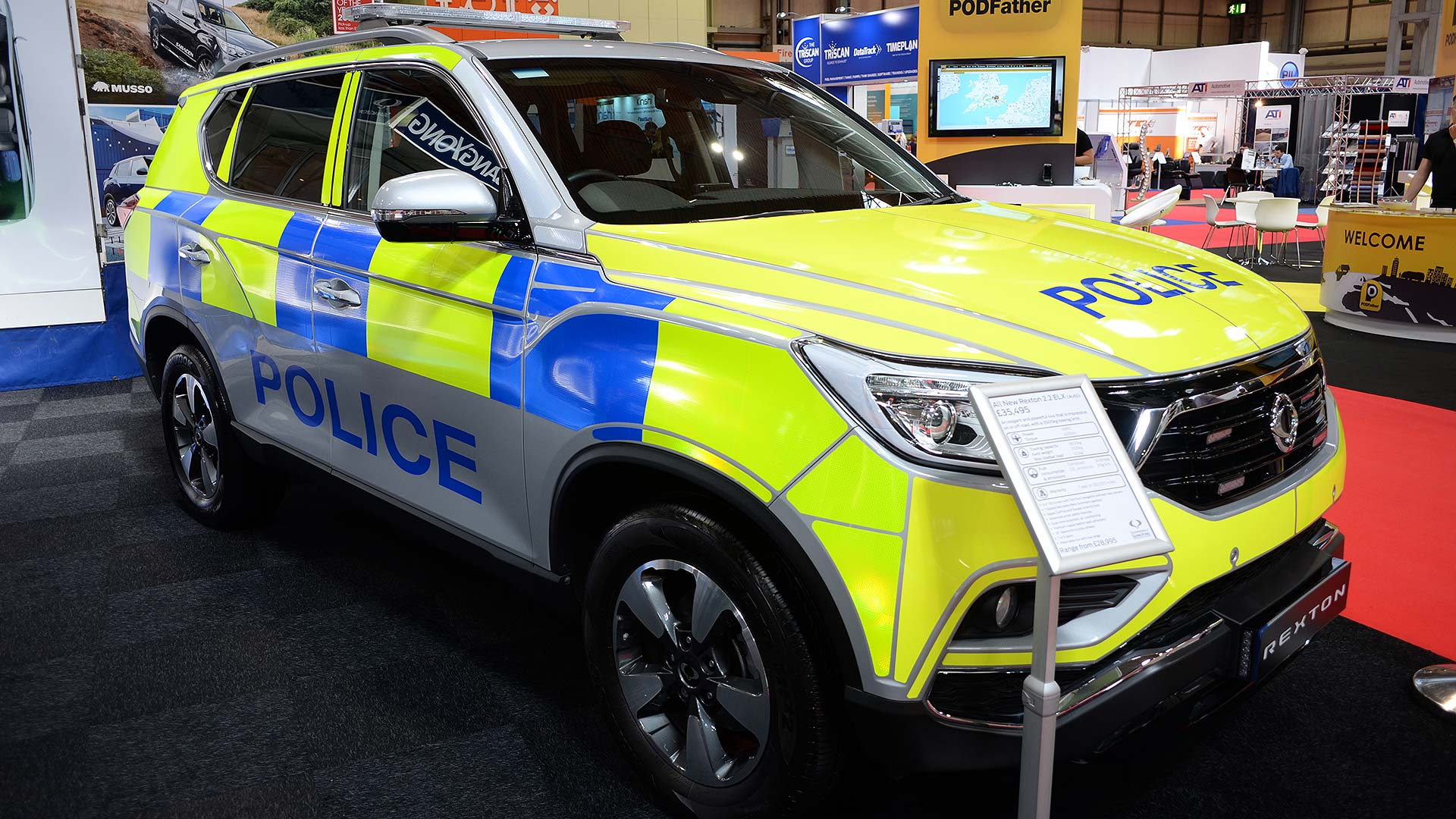 SsangYong Musso Police