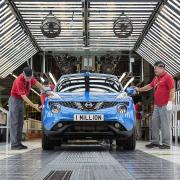 Nissan Juke car production in Sunderland