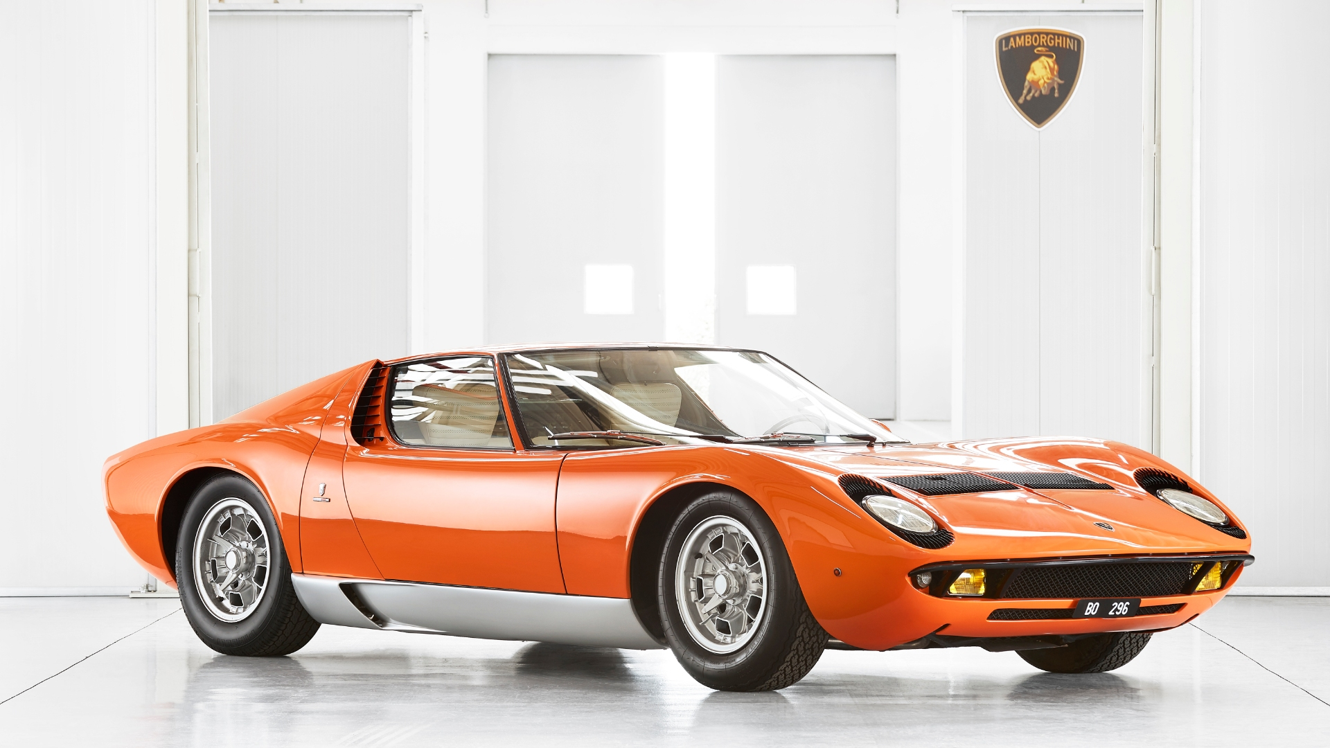 Lamborghini Miura Italian Job