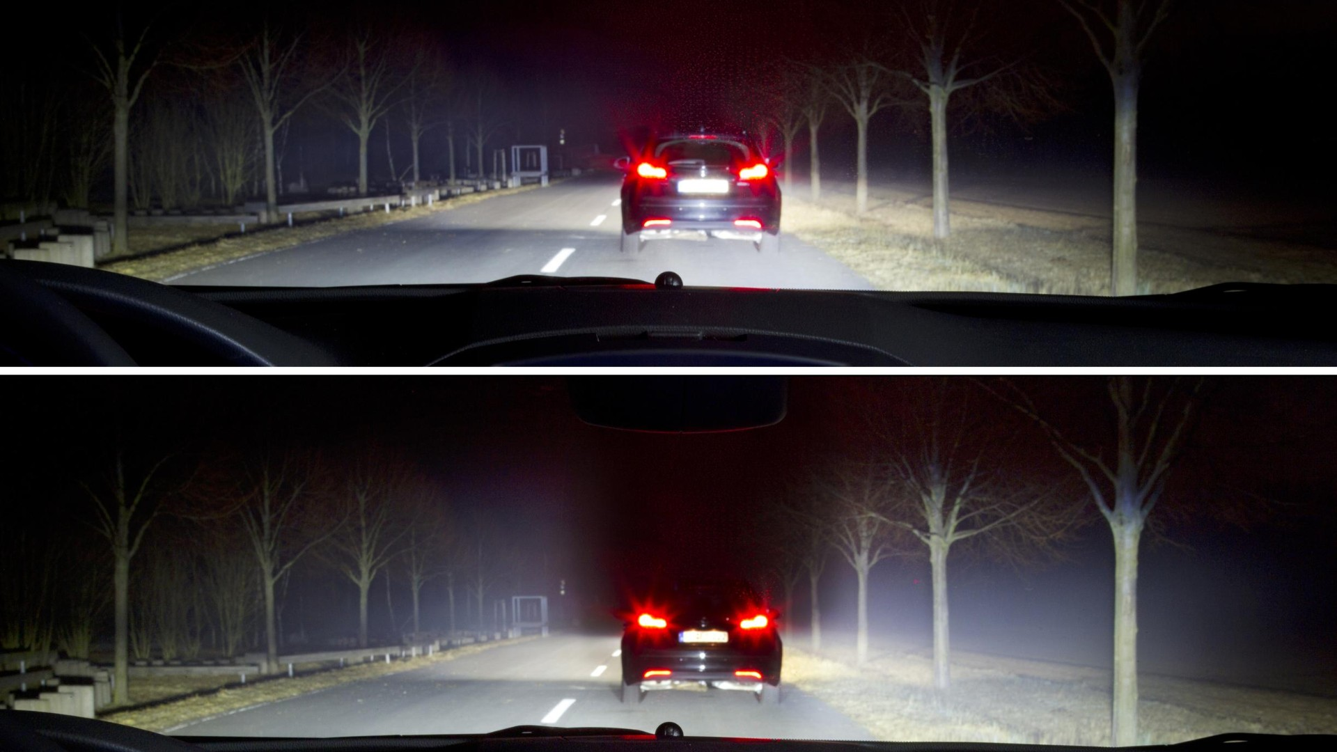Are modern car headlights too bright?