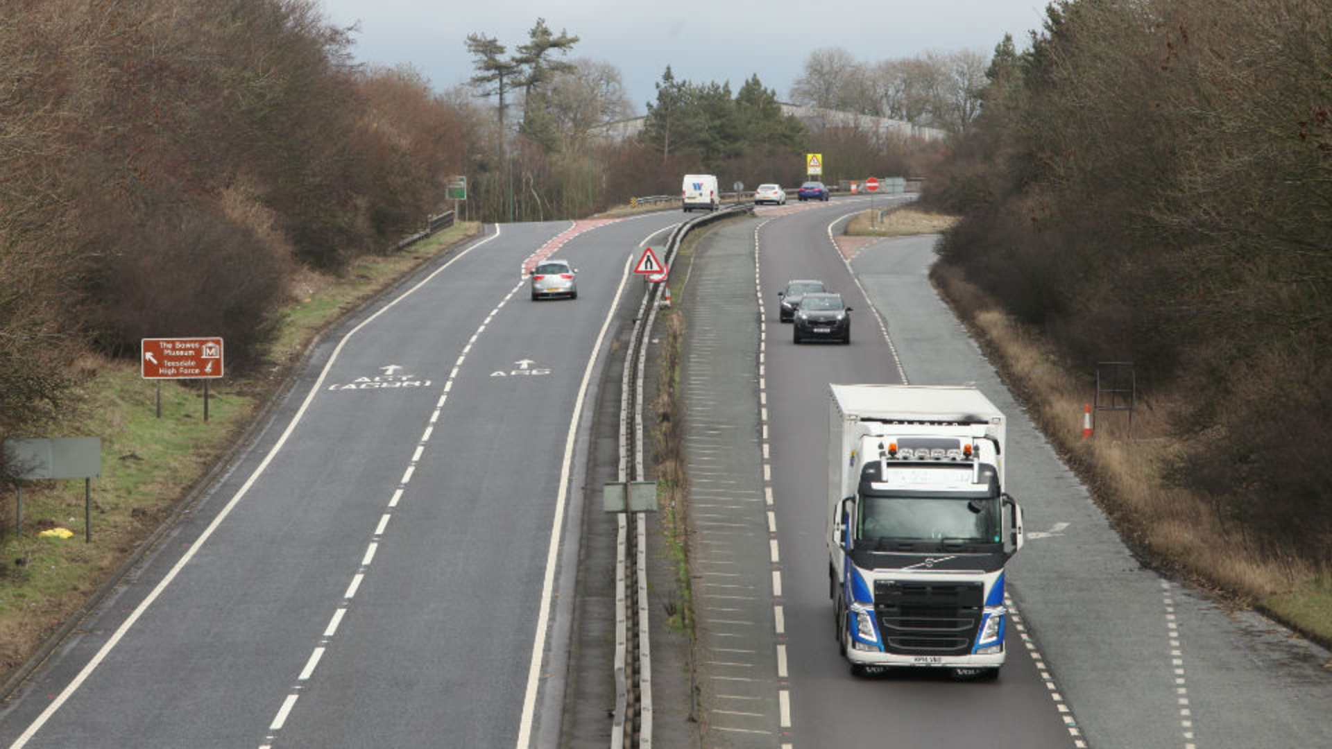 Trans-Pennine A66 upgrade