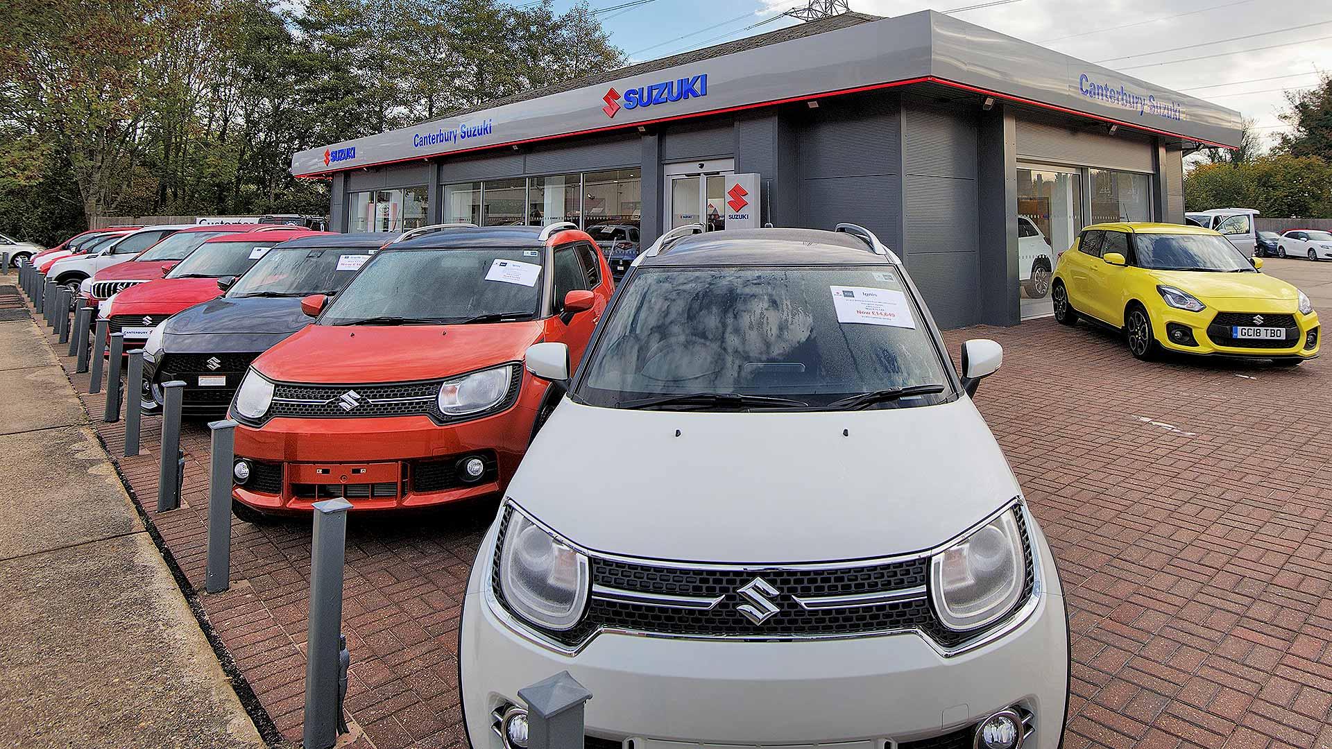 Canterbury Suzuki car dealer