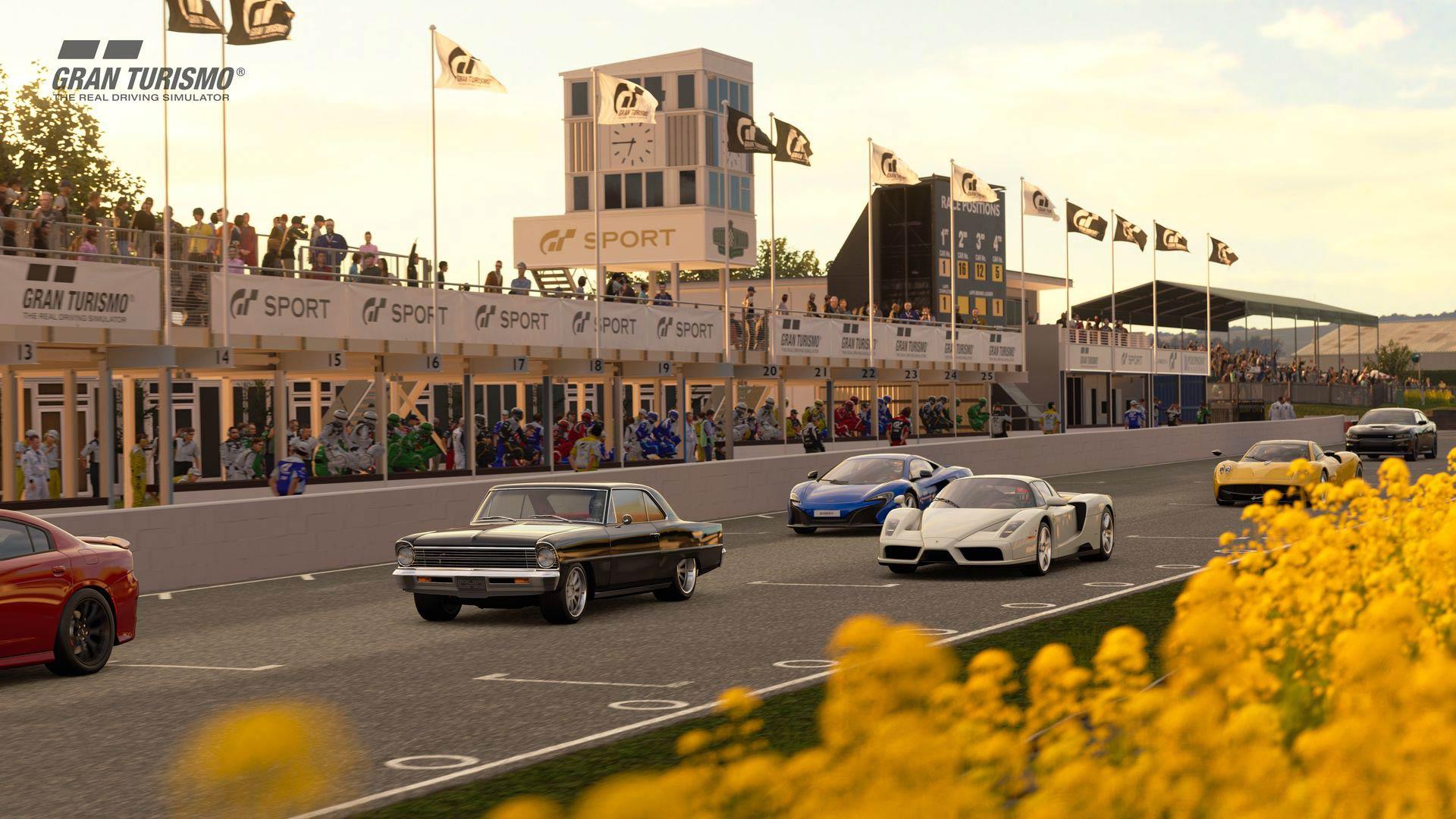 Gran Turismo Sport gets Goodwood Circuit