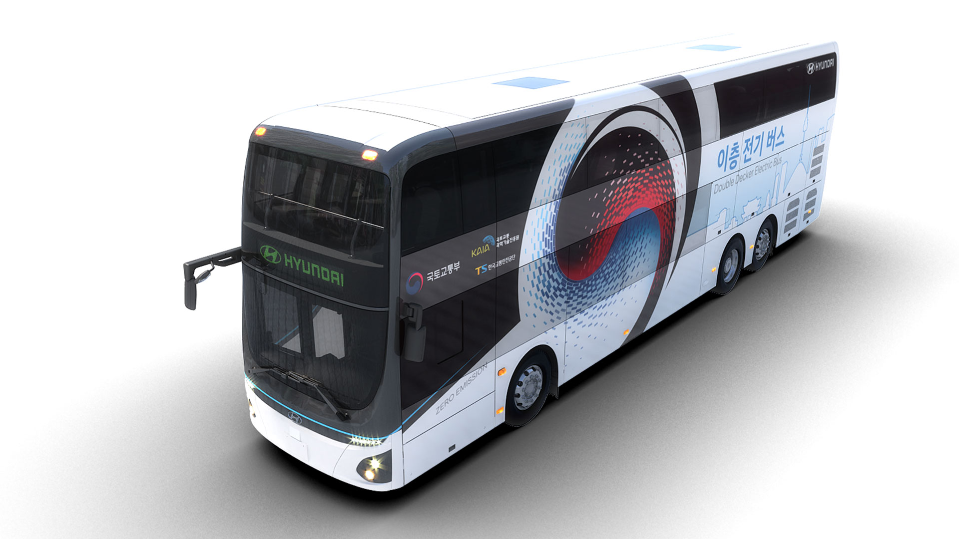 Hyundai electric double-decker bus