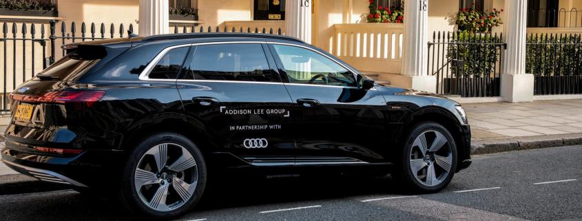 Audi E-Tron Addison Lee
