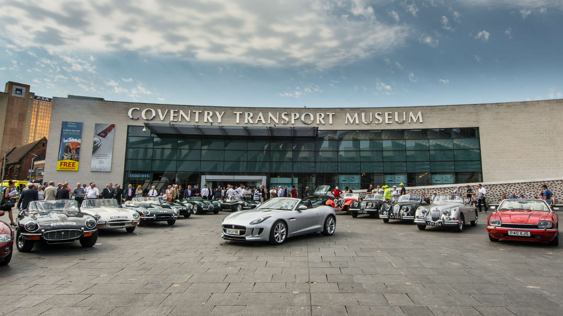 Jaguars at Coventry Transport Museum