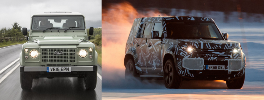 Land Rover Defender launch
