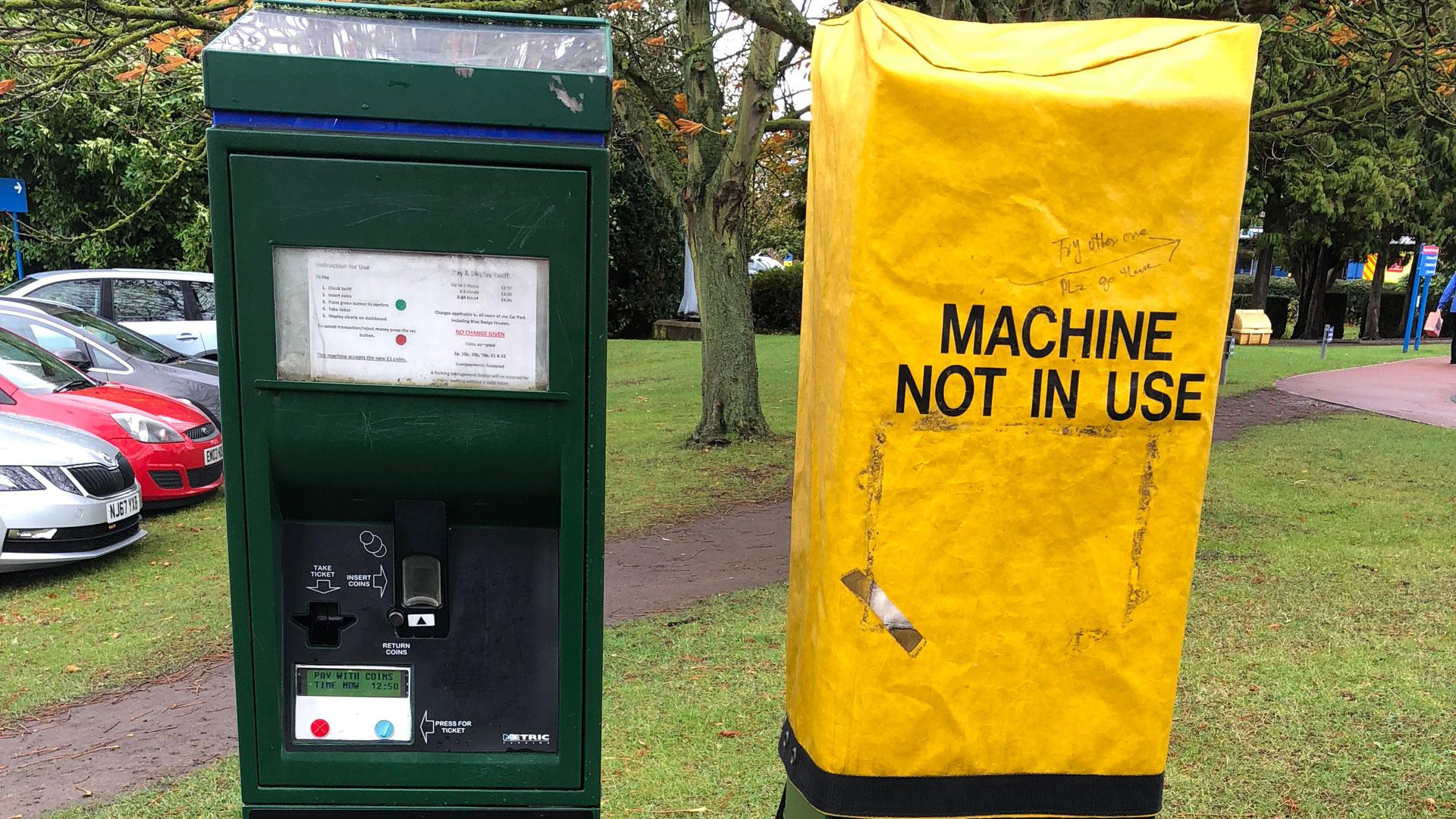 Parking revolution spells end for the car park ticket machine