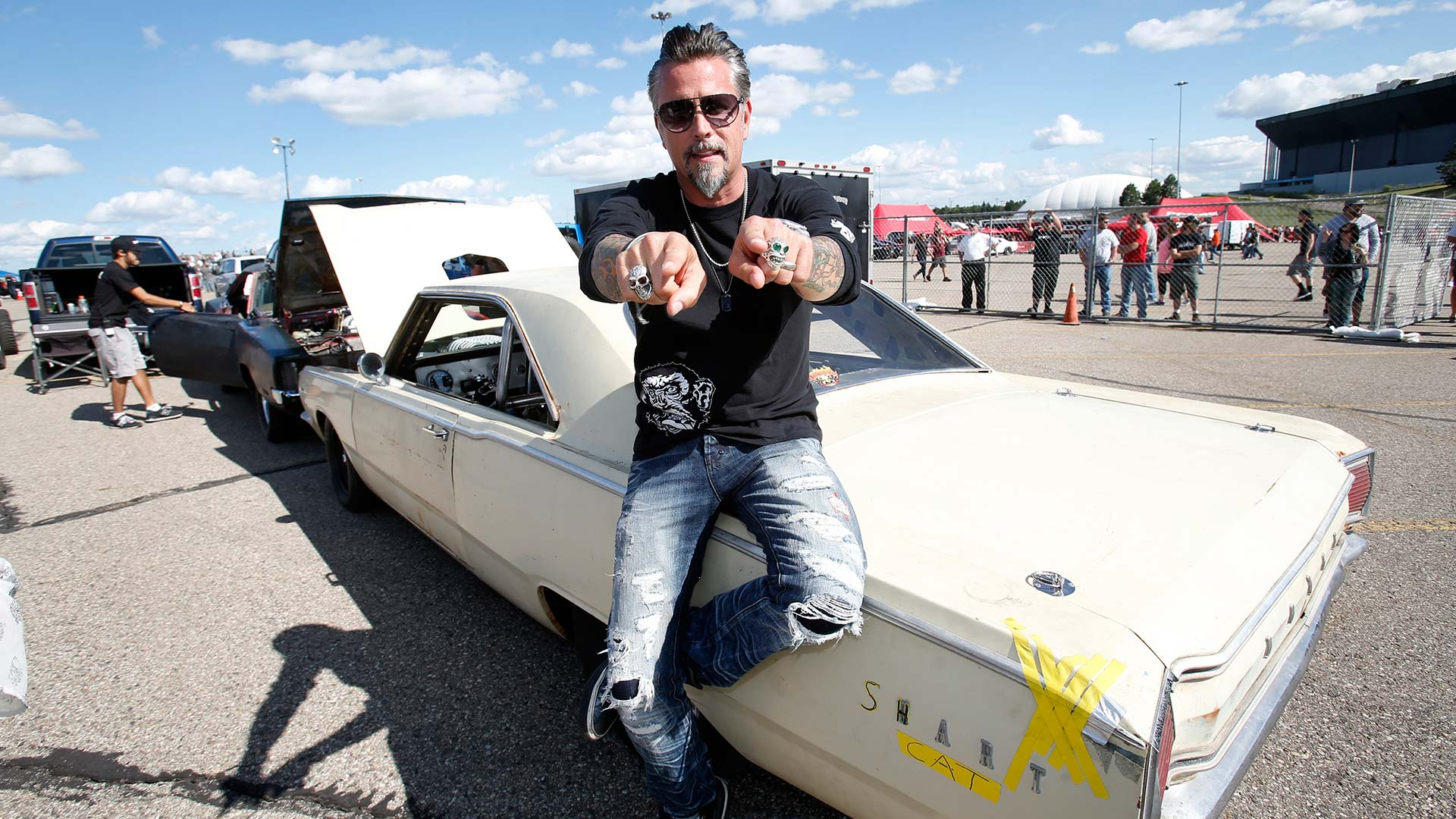 Richard Rawlings stolen Dodge Hellcat found