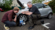 young people car maintenance