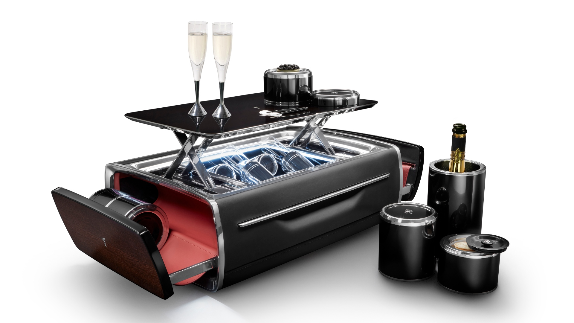 The Rolls-Royce Champagne Chest