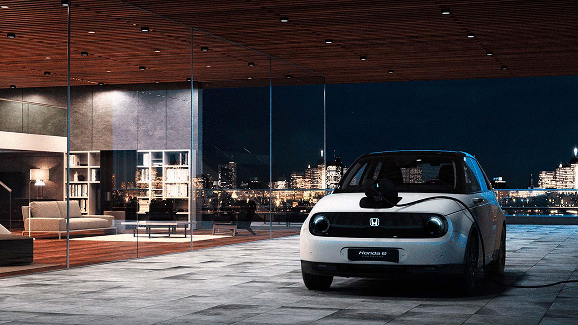 Honda e electric city car