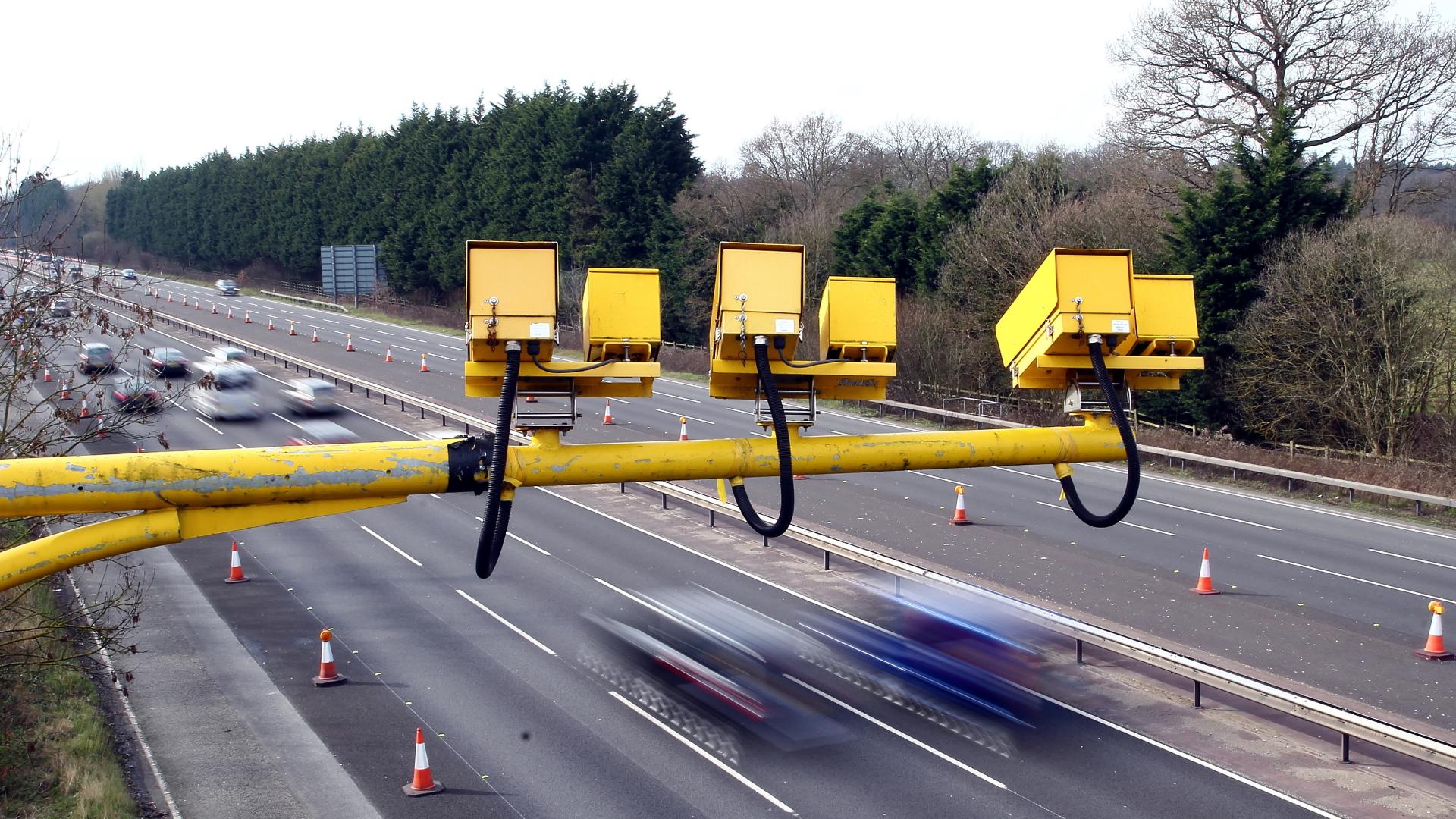 Speed cameras UK