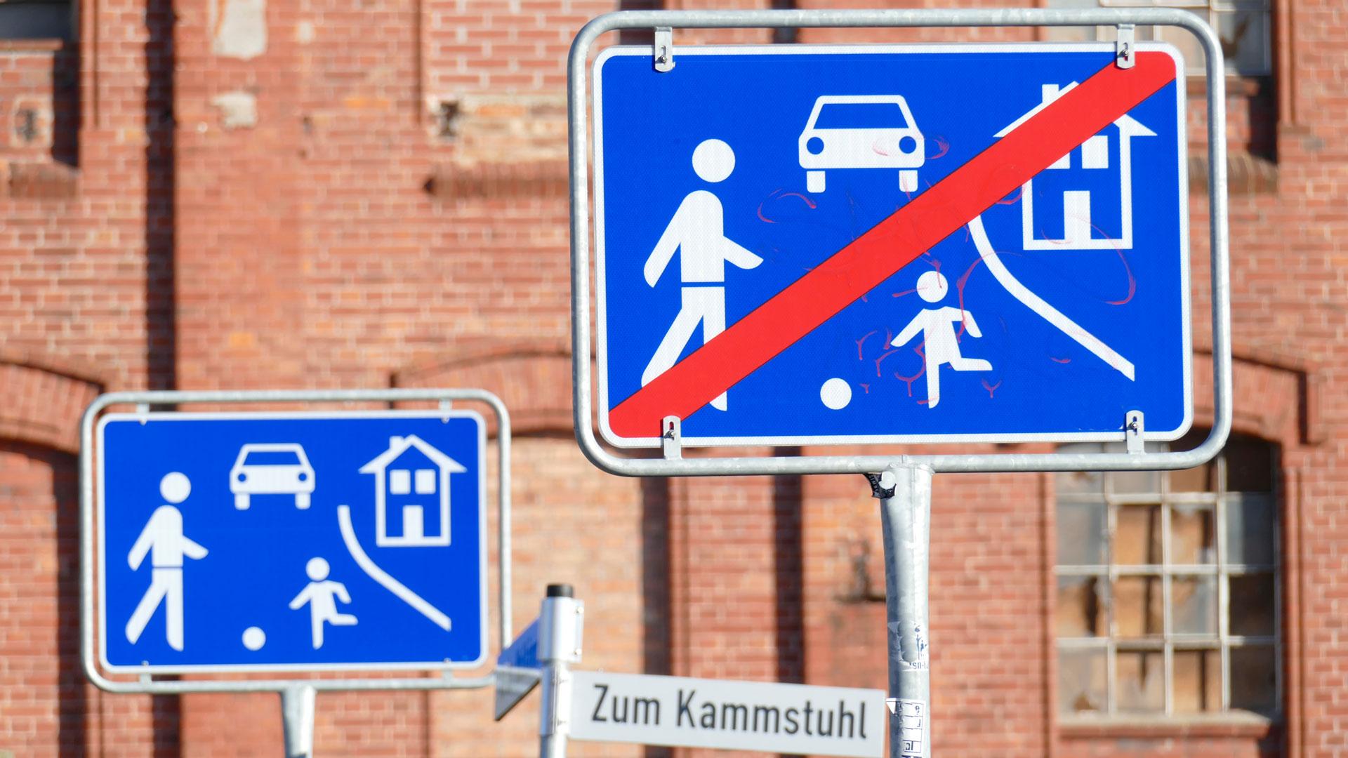 traffic calming Germany