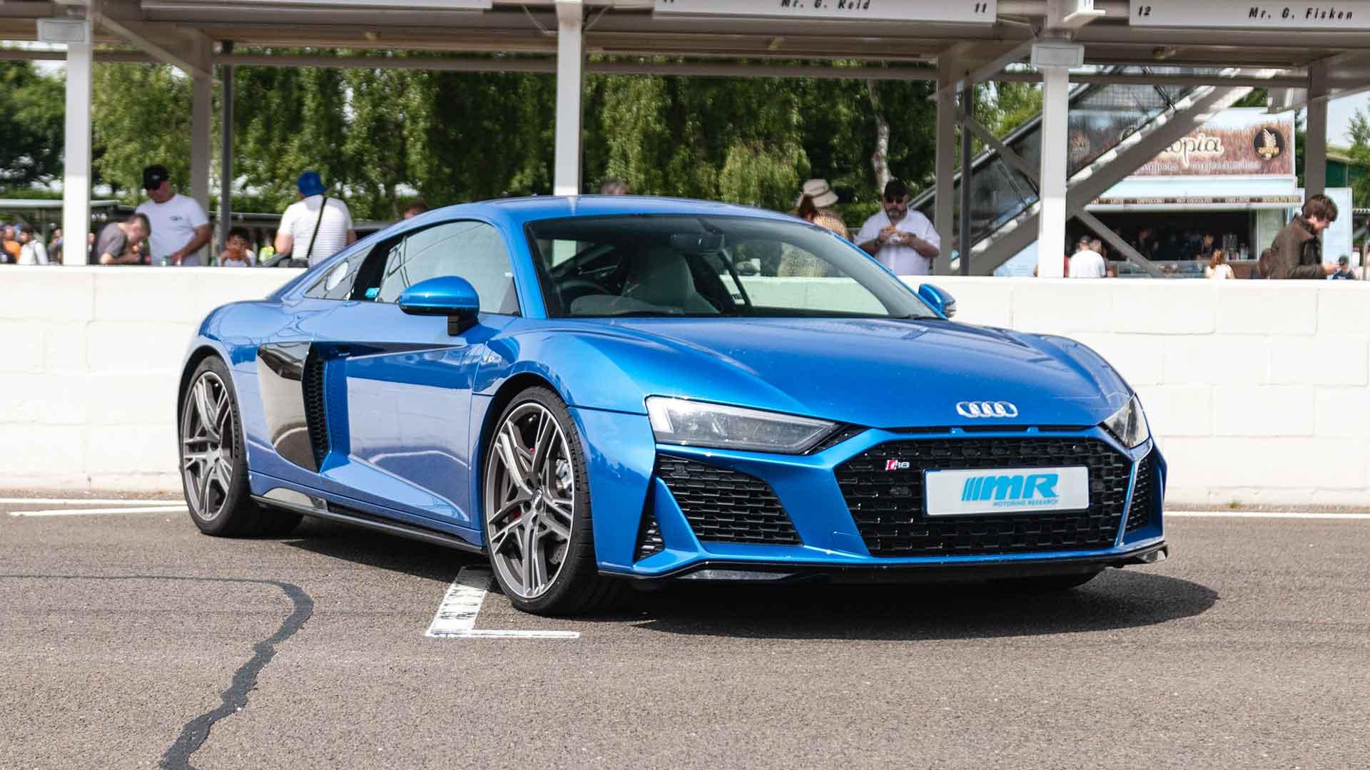 Audi R8 at Goodwood Supercar Sunday