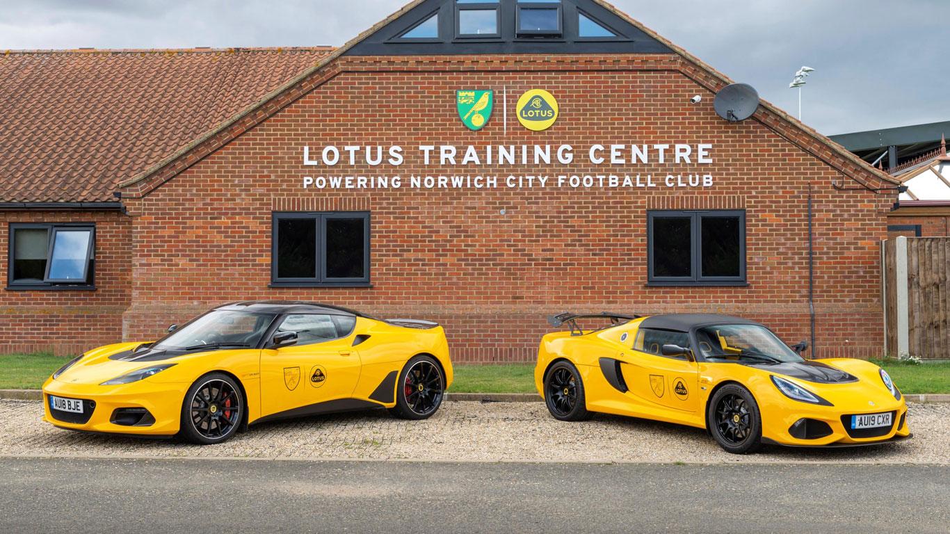 Lotus Norwich City deal