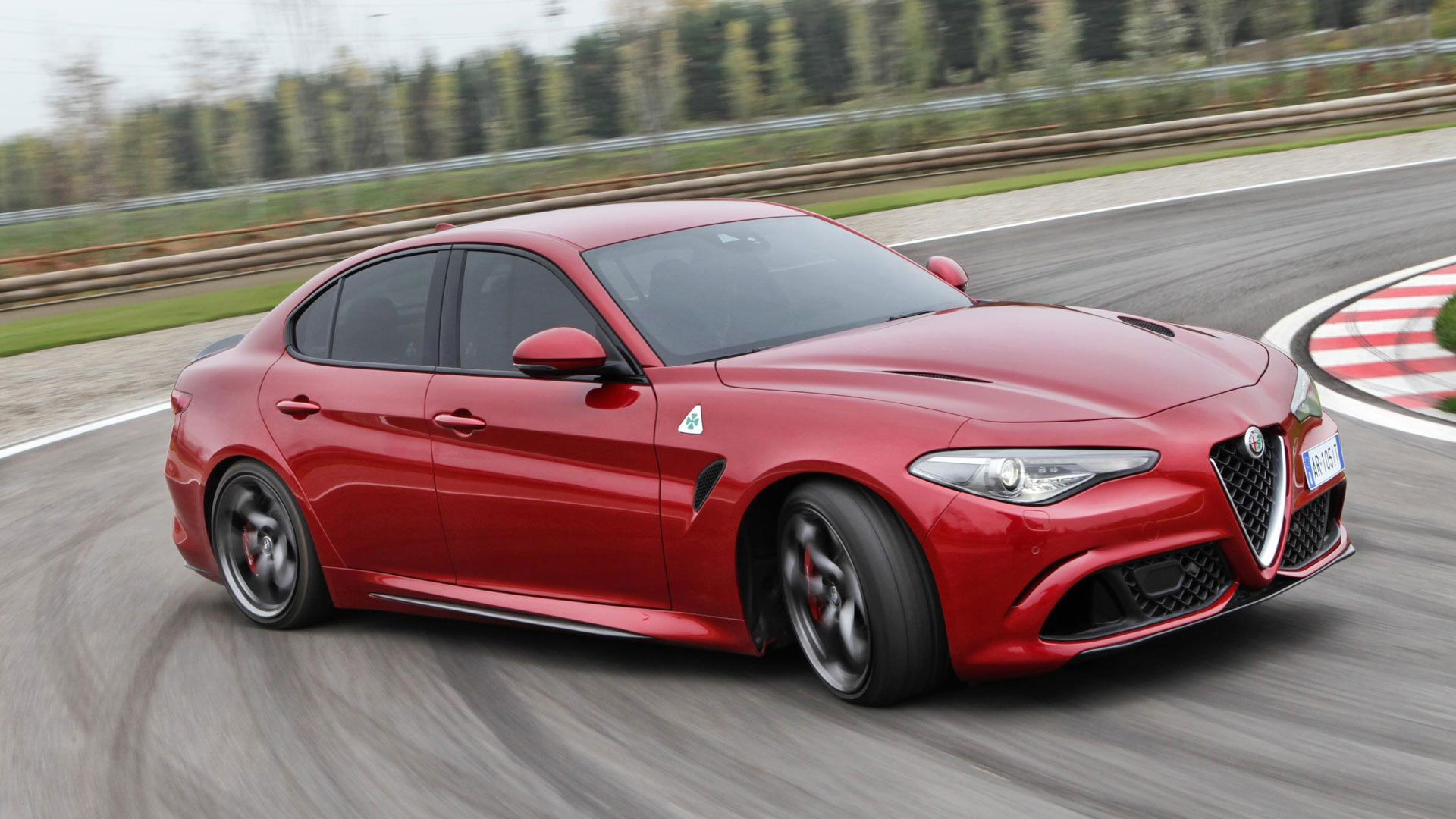 Alfa Romeo Giulia Quadrifoglio - greatest cars of the decade