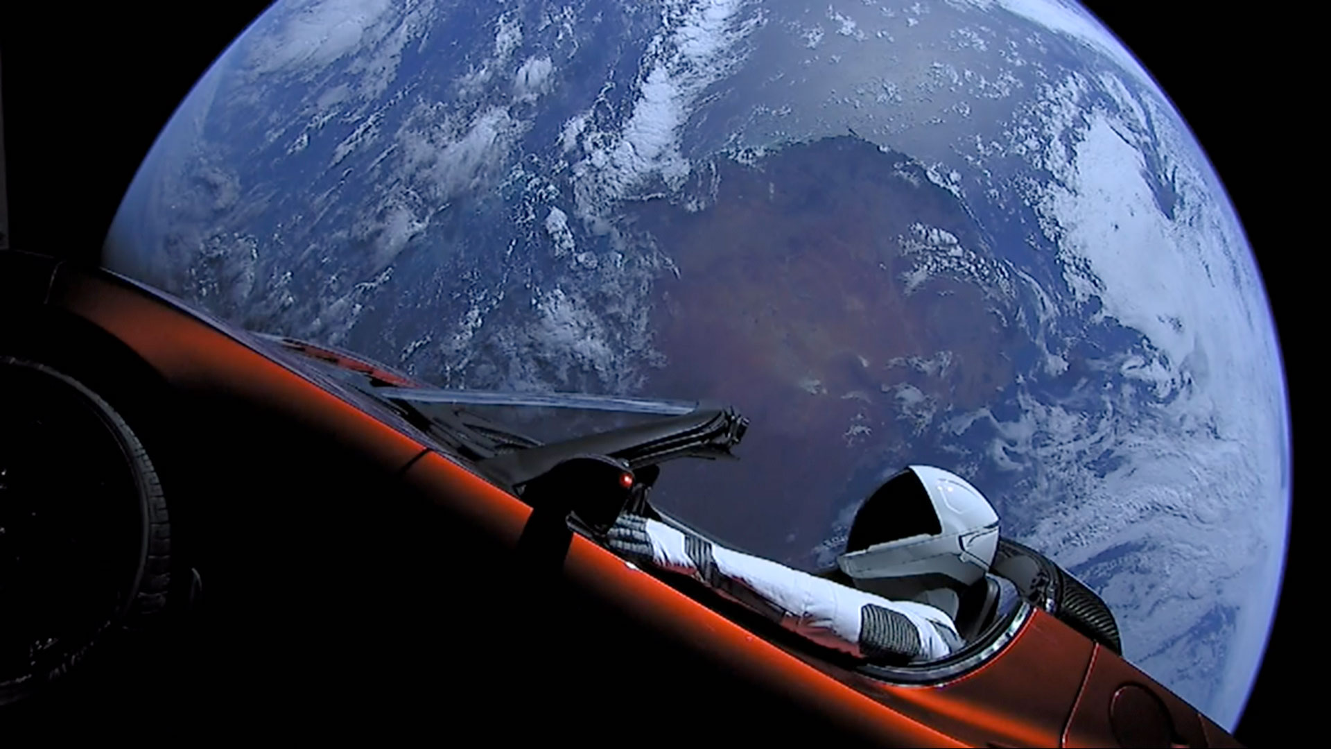 Fastest car in space