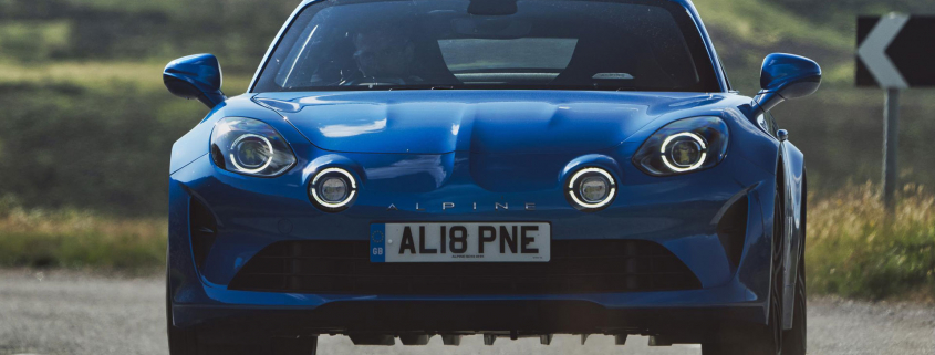 Alpine A110 - greatest cars of the decade