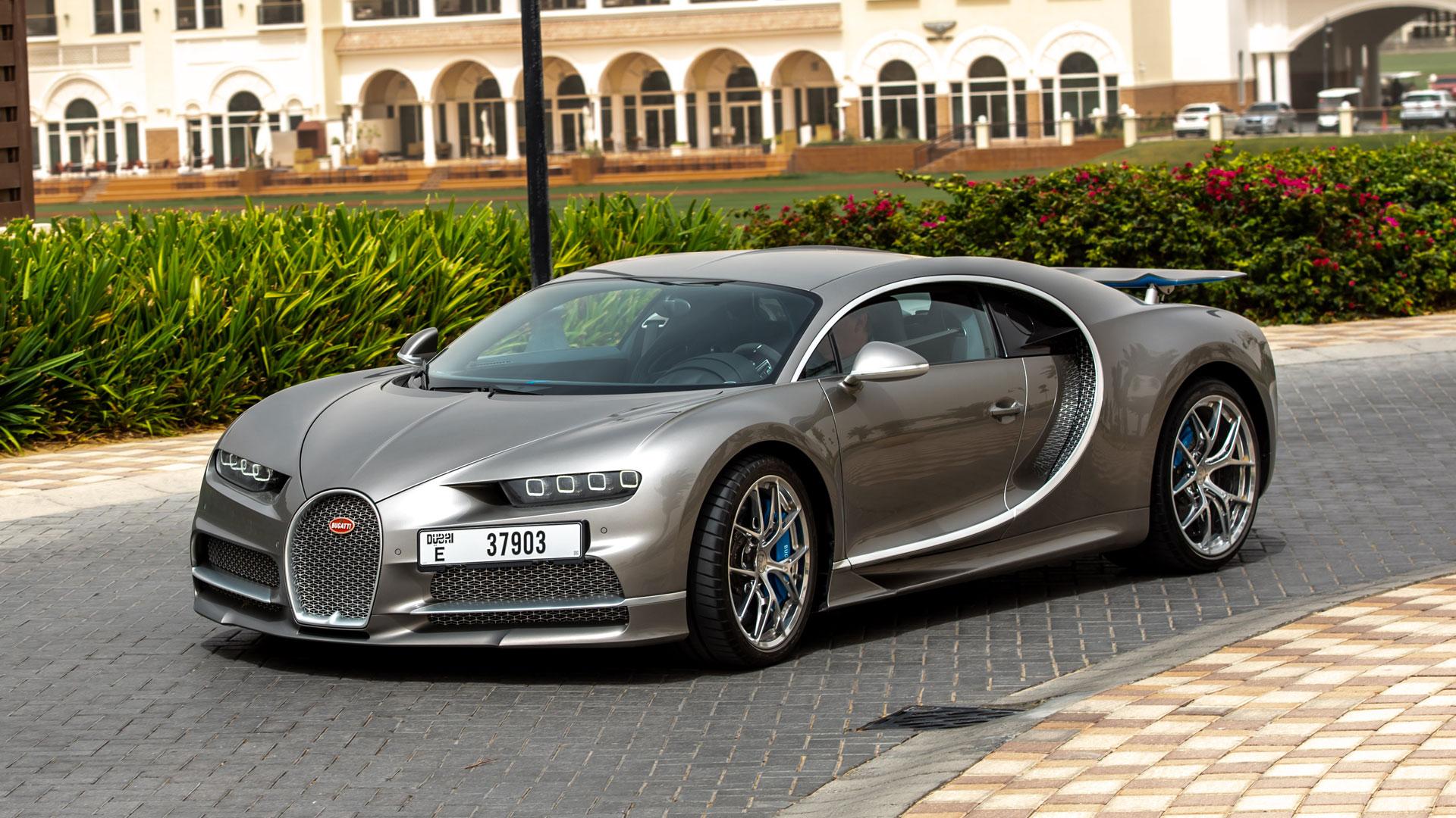Bugatti Chiron - greatest cars of the decade