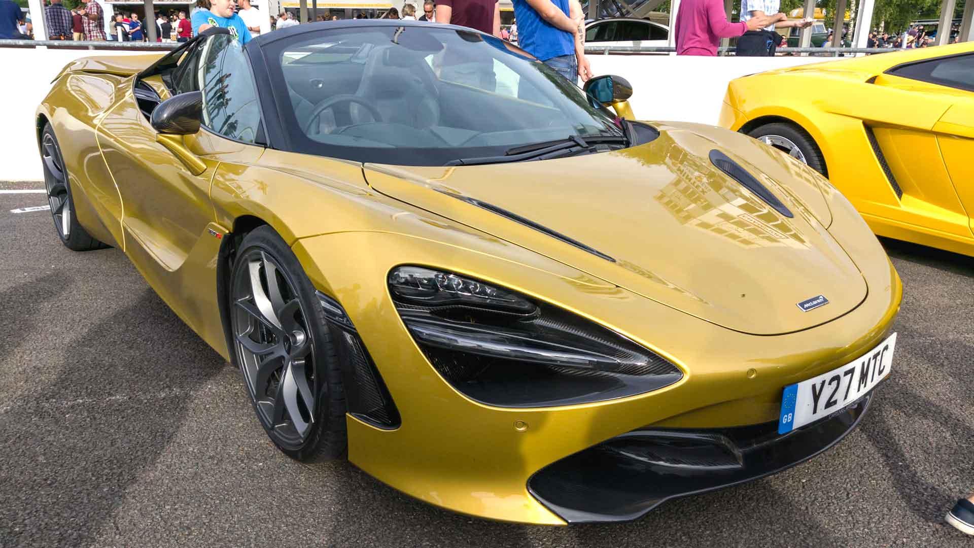 McLaren 720S Spider at Goodwood Supercar Sunday