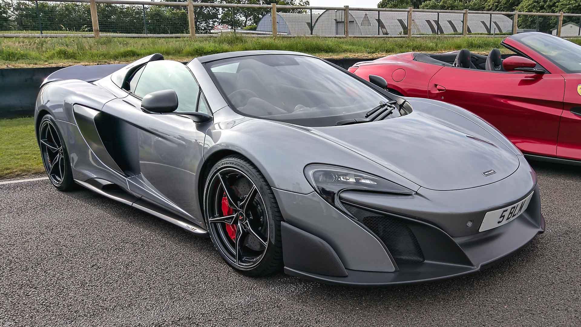 McLaren 675LT at Goodwood Supercar Sunday