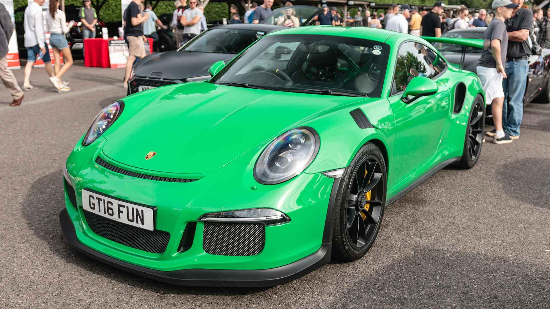 Porsche 911 GT3 RS at Goodwood Supercar Sunday