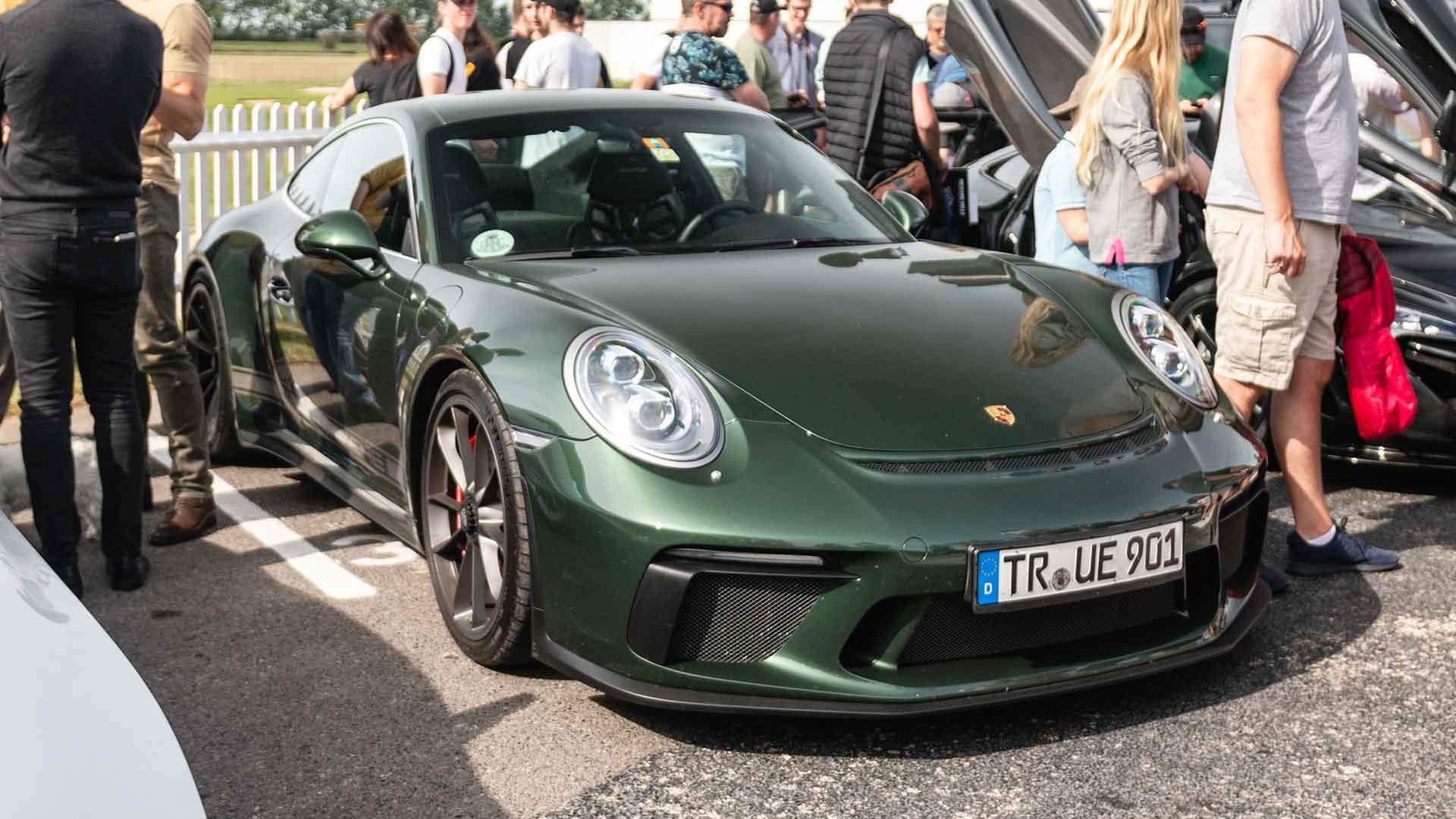 Porsche 911 GT3 Touring at Goodwood Supercar Sunday
