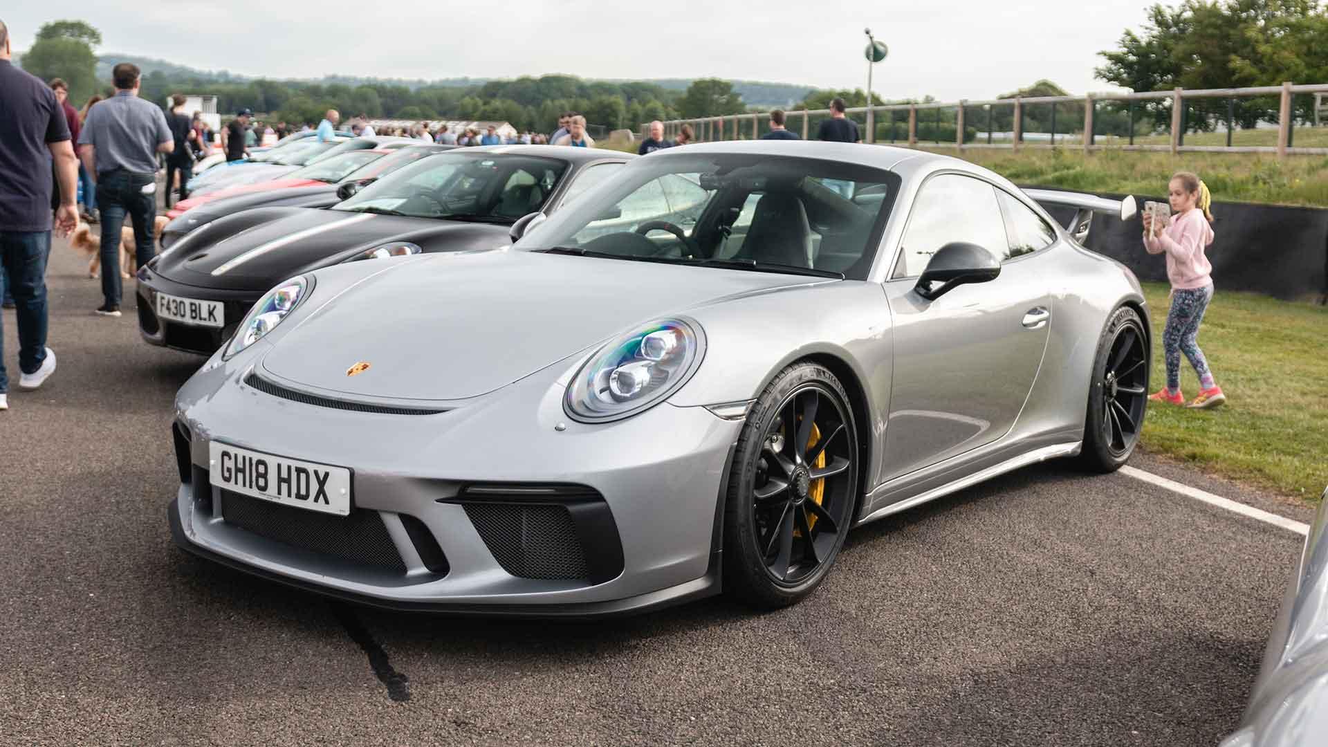 Porsche 911 GT3 at Goodwood Supercar Sunday