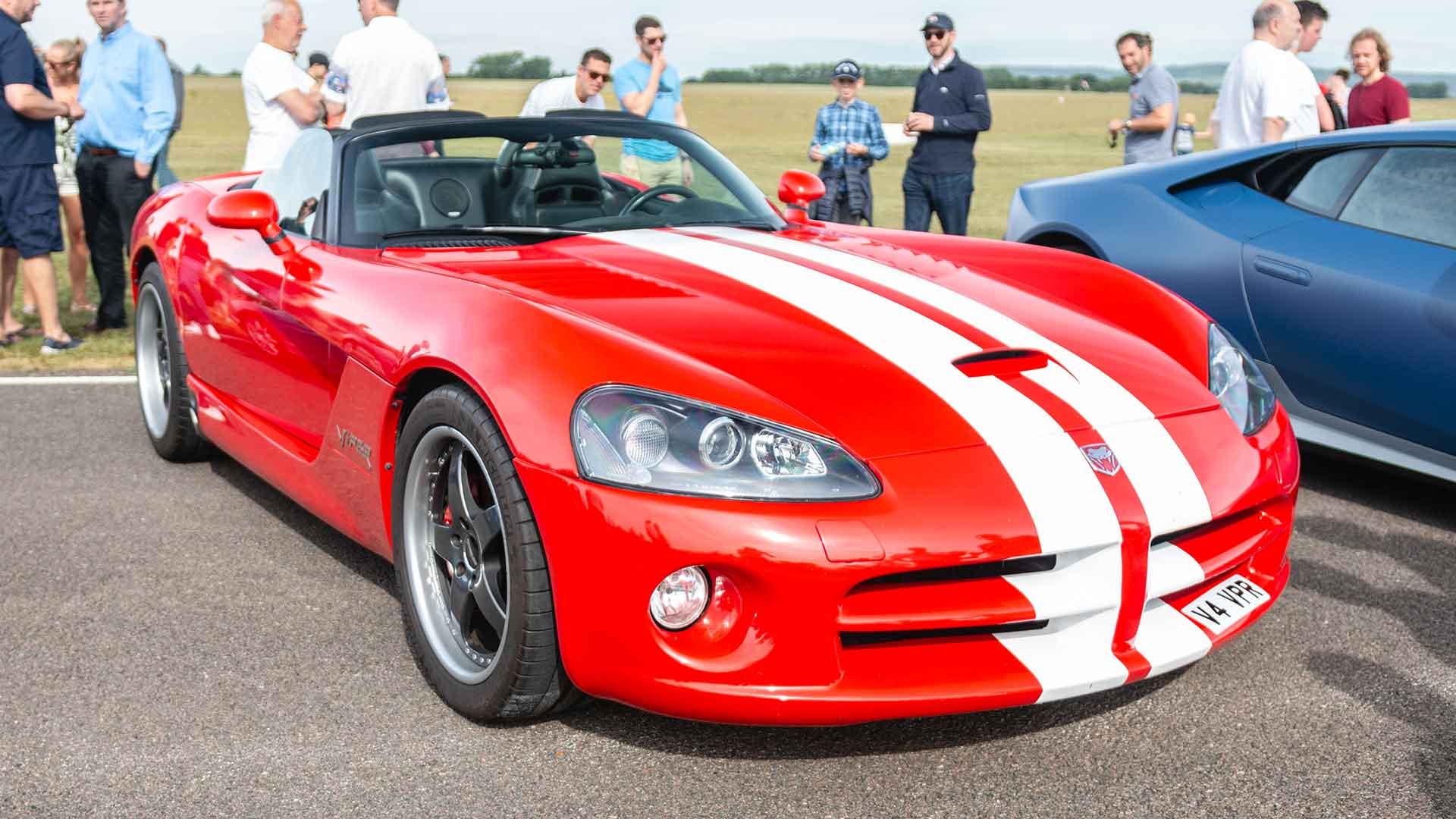 Dodge Viper at Goodwood Supercar Sunday
