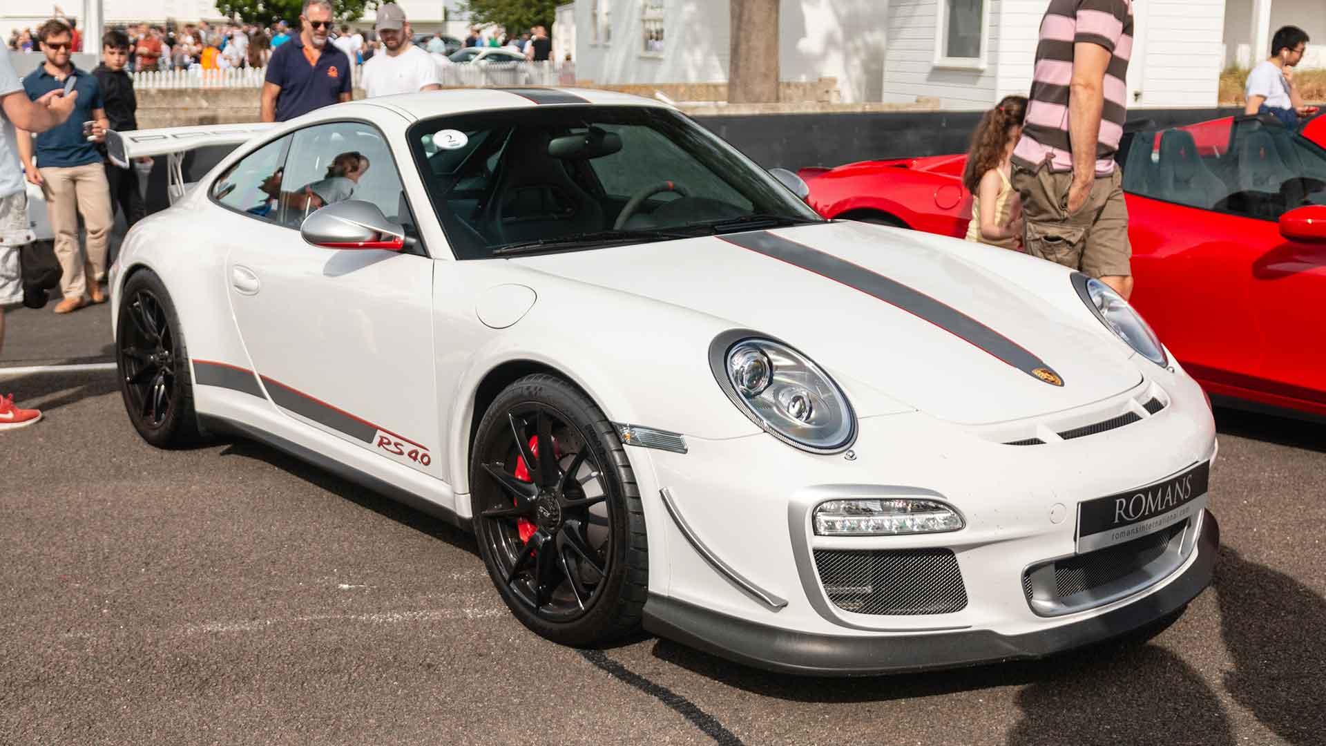 Porsche 911 GT3 RS 4.0 at Goodwood Supercar Sunday