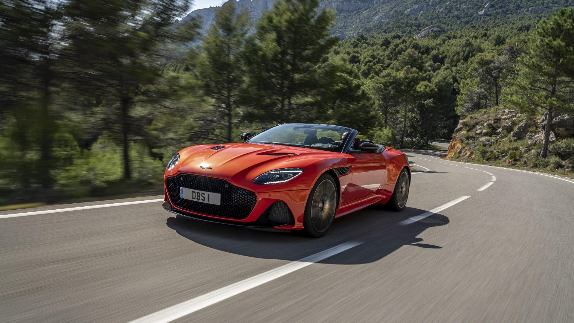 2019 Aston Martin Dbs Superleggera Volante Review Sensory Overload