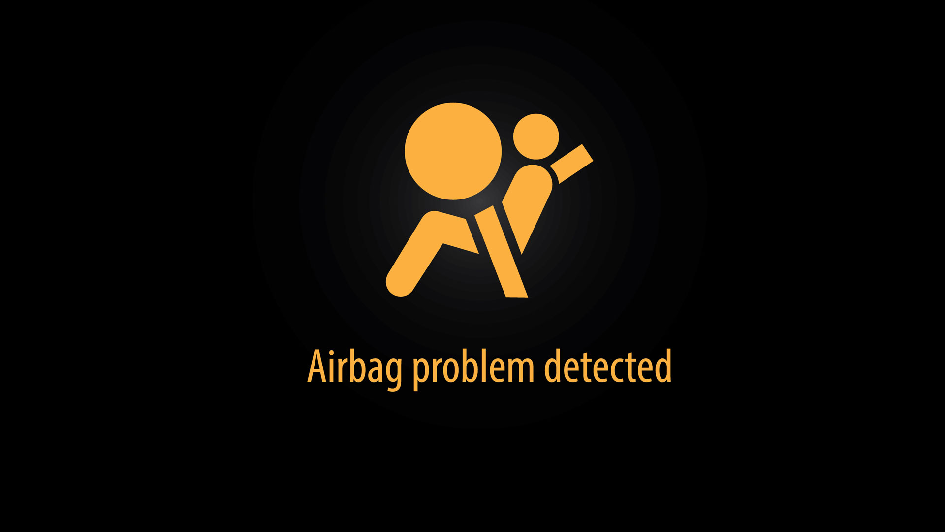 Airbag problem detected