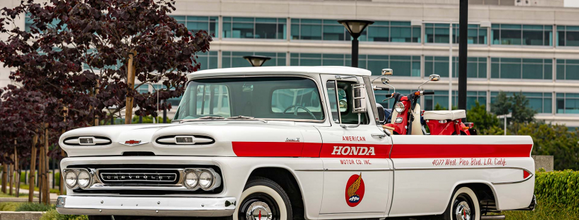 American Honda restores Chevrolet pickup