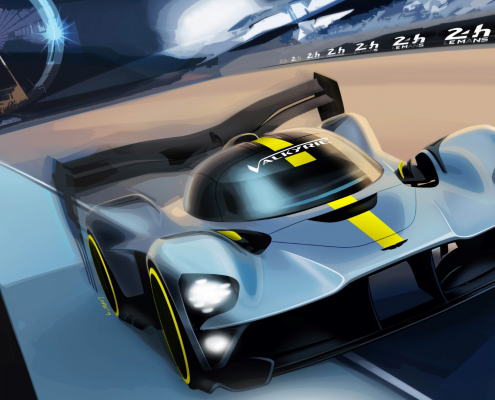 Aston Martin Valkyrie to race at Le Mans