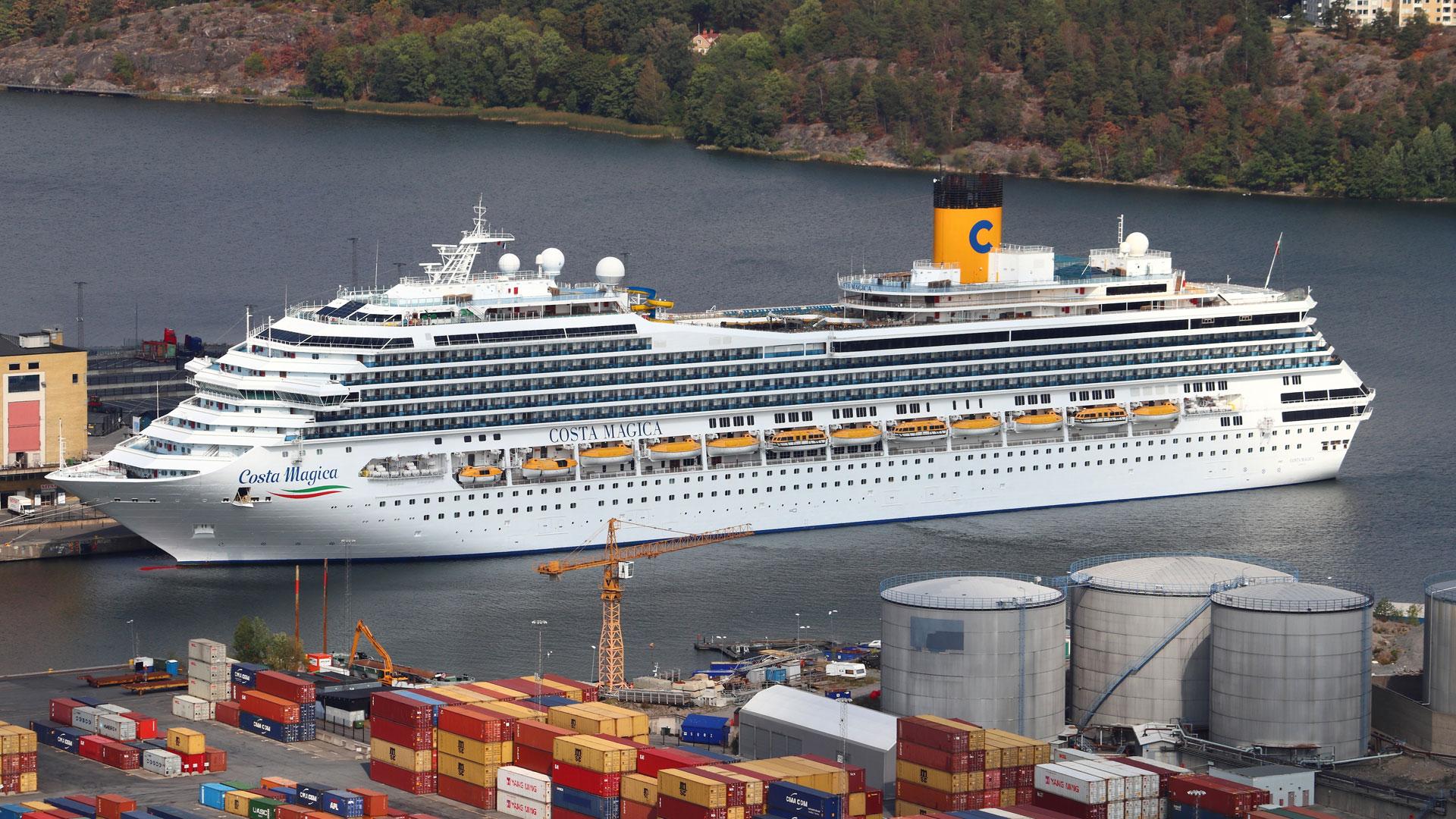 Costa Magica cruise ship Stockholm