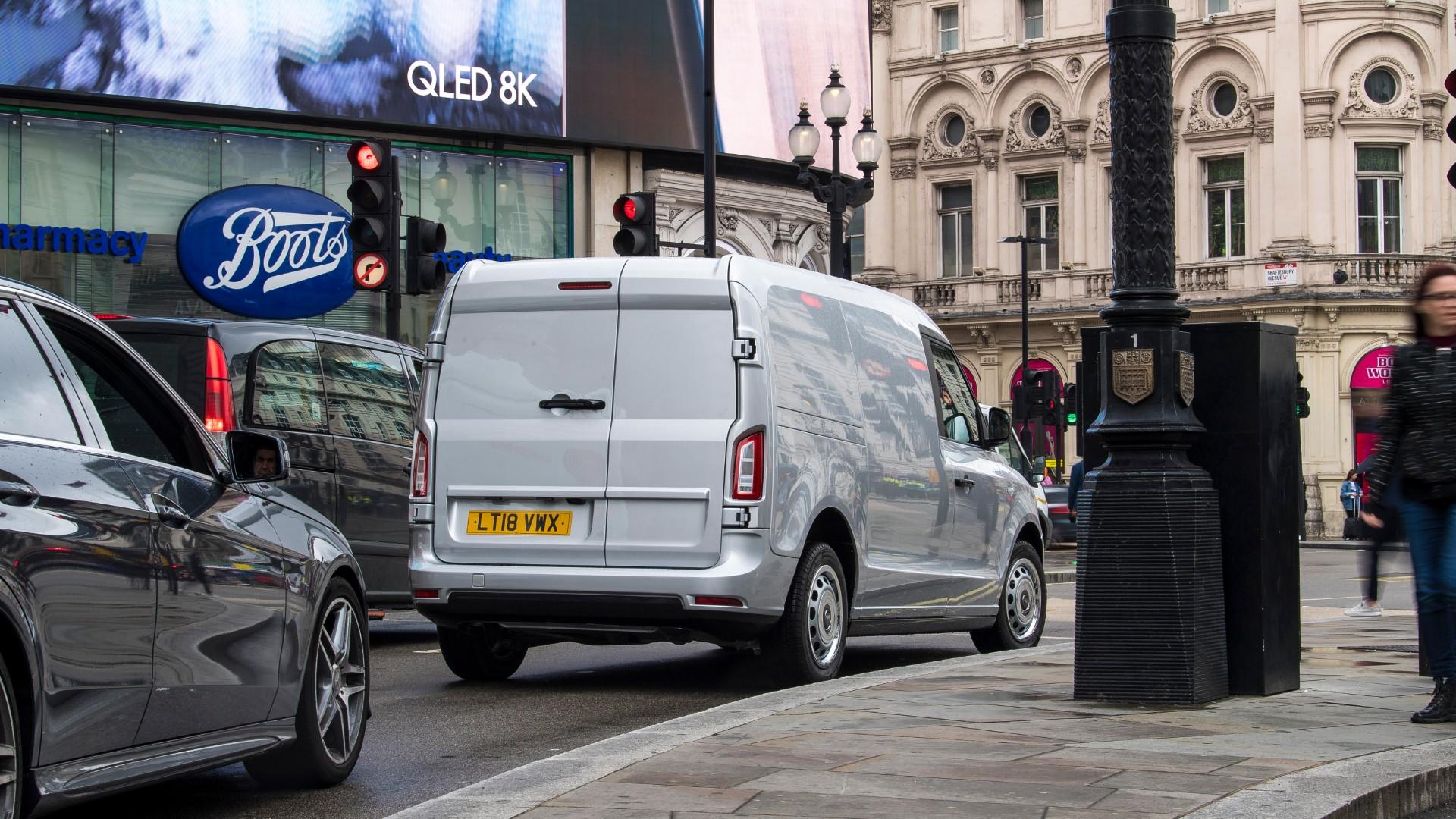 The new LEVC LCV van