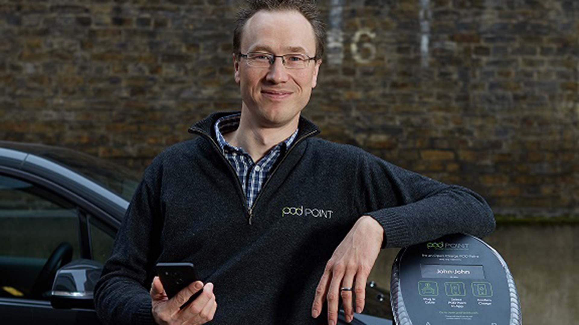 Erik Fairbairn Pod Point CEO and Founder