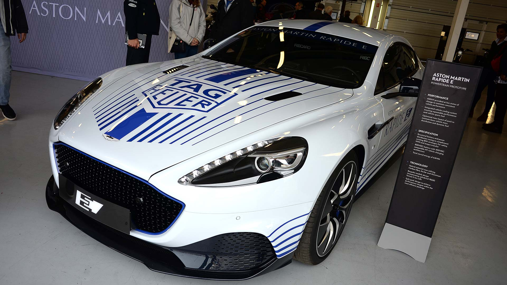 Fully Charged Live Aston Martin Rapide E