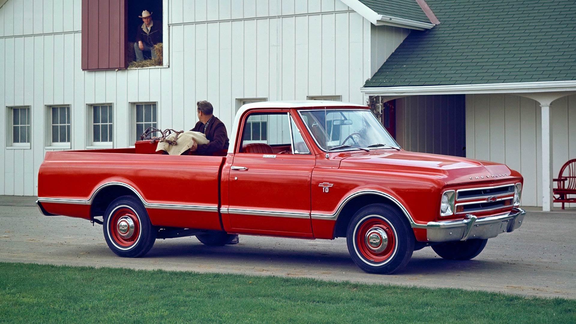 1967 - 1972 Chevrolet CK Series Pickup