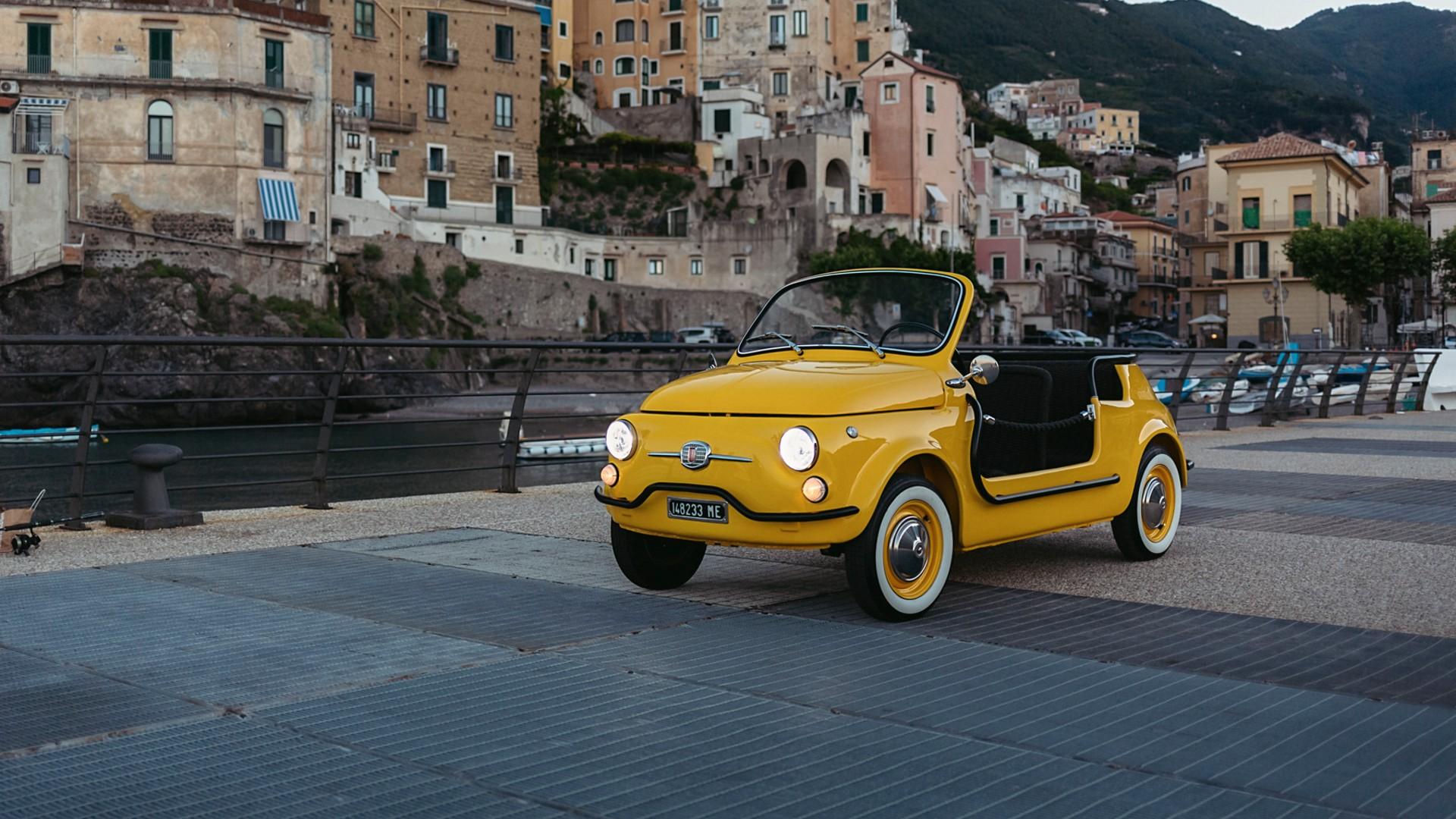 Hertz electric classic Fiat 500