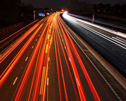 How to drive on a smart motorway
