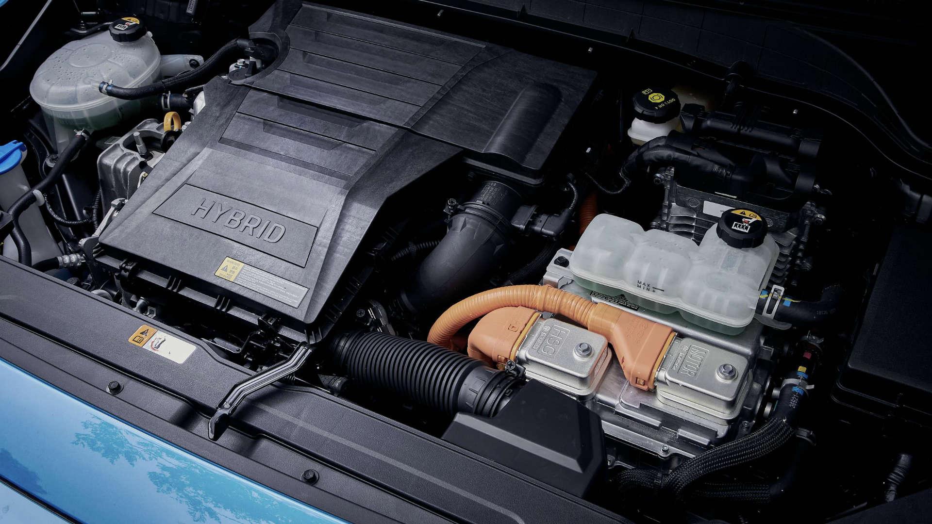 Hyundai Kona Hybrid powertrain